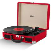 Akai A60011NR Portable Record Player With Bluetooth