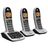 BT 084668 4600 Trio Big Button Cordless Phone With Answer