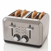Haden 183477 Perth Stainless Steel Toaster