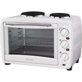 IGENIX IG7126 Table Top Oven With 2 Hot Plates