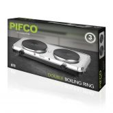 Pifco P15002 2500W Double Hot Plate