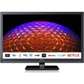 SHARP 1T-C24BC0KR1FB GRADED 24` HD Ready Led Smart TV Netflix Prime Freeview HD Freeview Play USB Me