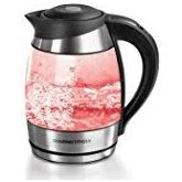Tower T10017 1.7 Litre Glass/Stainless Steel Colour Changing Kettle