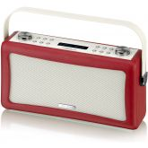 View Quest HEPBURN-RED DAB, FM And Bluetooth Radio