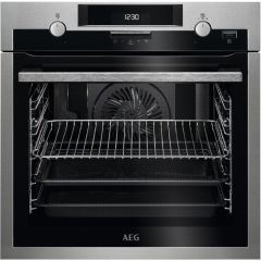 AEG BPS551220M Single Fan Oven With Pyrolytic Cleaning