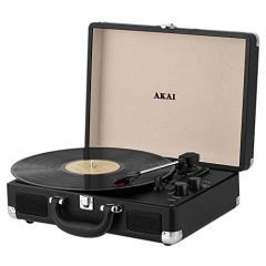 Akai A60011N Portable Record Player With Bluetooth