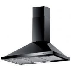 Baumatic F90.2BL 90Cm Chimney Black Cooker Hood