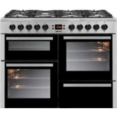 Beko BE10GASS 100Cm All Gas Range Silver
