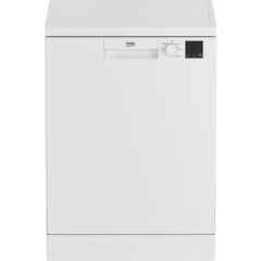 Beko DVN05C20W 13 Place Full Size Dishwasher - White - A++ Energy Rated