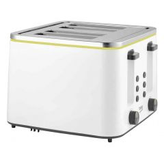 Beko TAM4341W New Line 4 Slot Toaster In White