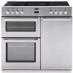 Belling 444440534 DB490E PROF S/S 90cm Professional Range Cooker Stainless Steel