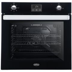 Belling BI602FPCT BLK Built In Electric Multifunction Single Oven Black