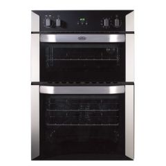 Belling BI90MF S/STEEL Built In Multi Function Double Oven