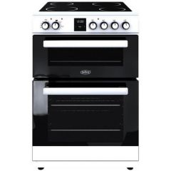 Belling FSE608DPC 60Cm Ceramic Double Oven White - A/A Rated