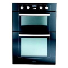 Belling XOU90MF BLK Black Built In Electric Multifunction Double Oven