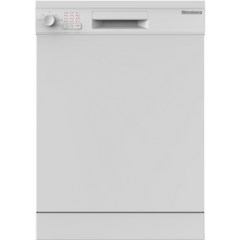 Blomberg LDF30210W 60Cm 14 Place Dishwasher - White - A++ Energy Rated