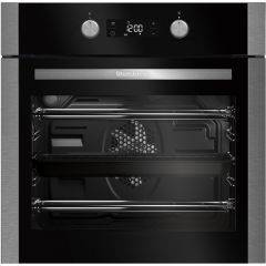 Blomberg OEN9302X Built In Electric Fan Oven In Stainless Steel, Led Display