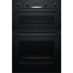 Bosch MBS533BB0B Built In Black Double Oven