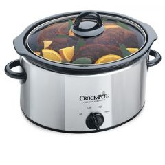 Crock Pot SCV400PSS-IUK Polished 3.5 Litre Slow Cooker