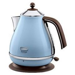 Delonghi KBOV3001.AZ 1.7L Duck Egg Blue Icona Vintage Style Kettle