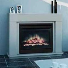 dimplex MFS12LE Multifire 1.2Kw Electric Fire Suite With Stone Effect
