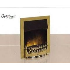 dimplex STM20BR Stamford Brass, Led, With Real Coal