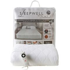 Dreamland 16312 Double Bed Single Control Luxurious Heated Mattress Protector