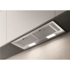 Elica ERA-LUX-SS-80 80Cm Deluxe Canopy Cooker Hood - Stainless Steel
