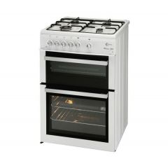 Flavel ML61NDWP 60Cm Gas Twin Cavity Cooker