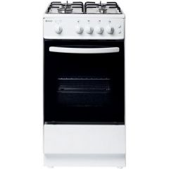 Haden HGS50W 50cm Single Oven Gas Cooker - White