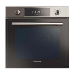 Hoover HSO8650X 65L Stainless Steel Single Fan Oven With Clock