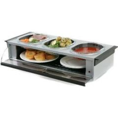 Hostess HO392SV Side Server Silver