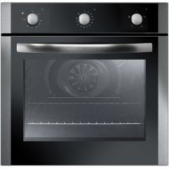 Iberna IBOF600X Built In Fan Single Oven S/Steel