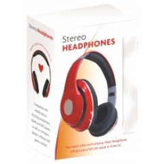 Infopower X302R Stereo Headphones