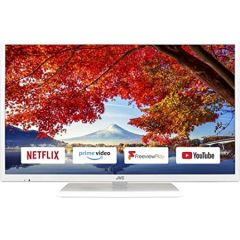 Jvc LT32C691 GRADED 32`` White HD Ready Led Smart TV Netflix Prime Freeview HD Freeview Play