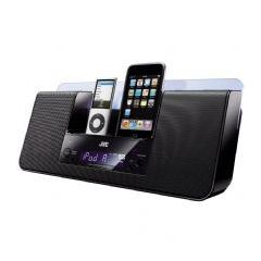 Jvc NXPN10B 10w Dual Ipod Docking Station