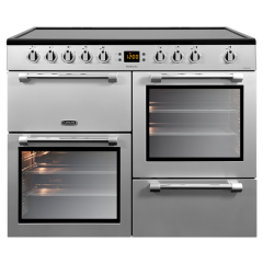 Leisure CK100C210S 100Cm Cook Master Electric Ceramic Range Cooker Silver