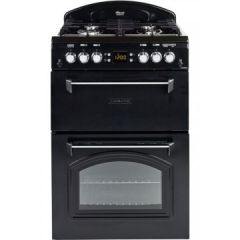 Leisure CLA60GAK 60Cm Double Oven Gas Cooker Black