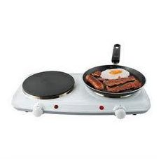 lloytron E832WH Double Hot Plate