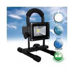 Minisun 18921 Rechargeable 5W Daylight Ip65 Led Floodlight With Stand