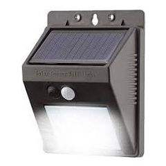 Lyyt 154.842UK 20Led Solar Security Light With Motion Sensor Ip44 Rated