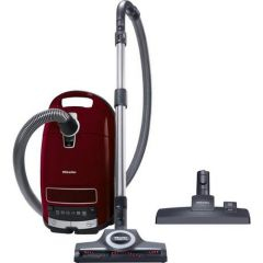 Miele C3CAT+DOG Bagged Vacuum Cleaner-Tayberry Red