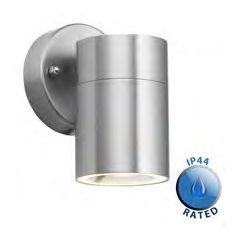 Minisun 18295 Ip44 Out Door Wall Light S/Steel