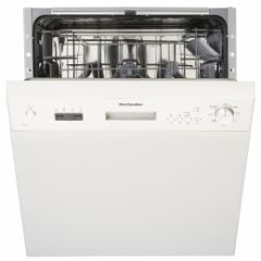 Montpellier MDI650W White 12 Place Semi Integrated Dishwasher