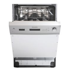 Montpellier MDI655X S/Steel 12 Place Semi Integrated Dishwasher