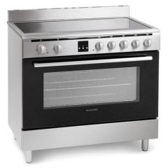 Montpellier MR90CEMX 90Cm Ceramic Single Oven S/Steel Electric