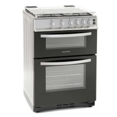 Montpellier MTG60LS 60Cm Twin Cavity Gas Cooker