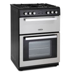 Montpellier RMC61GOX 60Cm Stainless Steel Gas Mini Range Cooker