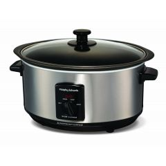 Morphy Richards 48701 Sear & Stew Slow Cooker Brushed Stainless Steel