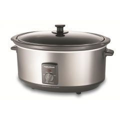 Morphy Richards 48718A 6.5L Stainless Steel Slow Cooker